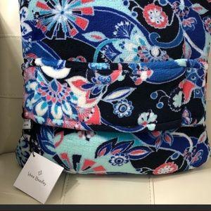 NWT! Vera Bradley Travel pillow/blanket